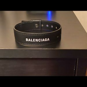 Authentic Balenciaga Leather Bracelet